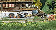Faller 180406 OO/HO Scale Model Kit GARDEN AND FIELD FENCES - PACK OF 4