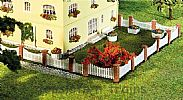 Faller 180429 OO/HO Scale Model Kit FRONT GARDEN FENCING - OVERALL LENGTH 385 mm