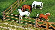 Faller 180430 OO/HO Scale Model Kit PADDOCK FENCING PACK 1 - OVERALL LENGTH 876 mm