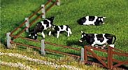 Faller 180431 OO/HO Scale Model Kit PADDOCK FENCING PACK 2 - OVERALL LENGTH 876 mm