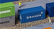 Faller 180825 OO/HO Scale Model 20FT SHIPPING CONTAINER - HANJIN
