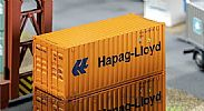 Faller 180826 OO/HO Scale Model 20FT SHIPPING CONTAINER - HAPAG LLOYD V