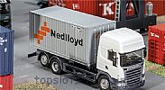Faller 180827 OO/HO Scale Model 20FT SHIPPING CONTAINER - NEDLLOYD V