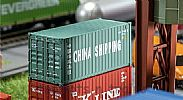 Faller 180828 OO/HO Scale Model 20FT CONTAINER - CHINA SHIPPING V