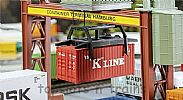 Faller 180829 OO/HO Scale Model 20FT SHIPPING CONTAINER - K LINE V