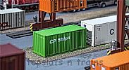 Faller 180830 OO/HO Scale Model 20FT SHIPPING CONTAINER - CP SHIPS
