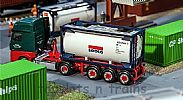 Faller 180832 OO/HO Scale Model 20FT TANK CONTAINER - SEACO
