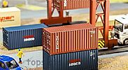Faller 180834 OO/HO Scale Model 20FT SHIPPING CONTAINER - TRITON