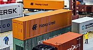 Faller 180841 OO/HO Scale Model Kit 40FT HI-CUBE SHIPPING CONTAINER - HAPAG LLOYD