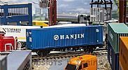 Faller 180842 OO/HO Scale Model Kit 40FT HI-CUBE SHIPPING CONTAINER - HANJIN