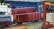Faller 180850 OO/HO Scale Model Kit 40FT HI-CUBE SHIPPING CONTAINER - XTRA V