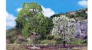 Faller 181190 OO/HO/N Scale Trees 2 X PREMIUM WILD CHERRY TREES - APPROX 120/85 mm