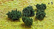 Faller 181233 OO/HO/N Scale 5 X PREMIUM BRAMBLE / BLACKBERRY HEDGES - 20-40 mm