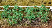 Faller 181259 OO/HO Scale 18 X TOMATO PLANTS - APPROX HEIGHT 15 mm