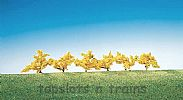 Faller 181475 OO/HO/N Scale 6 X FORSYTHIA - YELLOW FLOWERS - 40 mm