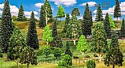 Faller 181535 OO/HO Scale Trees 25 X MIXED FOREST TREES / 35 - 150 mm