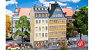 Faller 190163 OO/HO Scale Model Kit PROMOTIONAL ACTION SET – DANUBE TOWNHOUSES