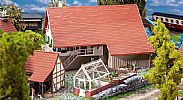 Faller 191744 OO/HO Scale Model Kit LARGE FARMHOUSE – MODEL OF THE MONTH