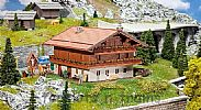 Faller 191745 OO/HO Scale Model Kit CHIEMGAU ALPINE CHALET