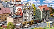 Faller 191748 OO/HO Scale Model Kit BREITESTRASSE ROW OF TOWNHOUSES III