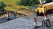 Faller 222175 N Scale Electronics 2 X WARNING CROSSES - WITH FLASHING LIGHTS