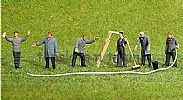Faller 150926 HO/OO 1-87 Scale Figures CARRIAGE CLEANING STAFF X 6 FIGURE SET