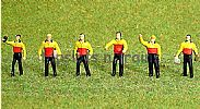 Faller 151611 HO/OO 1-87 Scale Figures DHL WORKERS X 6 FIGURE SET