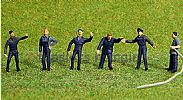 Faller 150931 HO/OO 1-87 Scale Figures AT THE FIRE STATION X 6 FIGURE SET