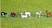 Faller 151911 HO/OO 1-87 Scale Figures GOATS X 6 FIGURE SET
