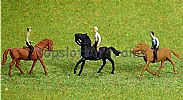 Faller 153027 HO/OO 1-87 Scale Figures HORSE RIDERS X 3 FIGURE SET