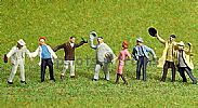 Faller 151054 HO/OO 1-87 Scale Figures MERRY DRINKERS X 8 FIGURE SET