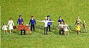 Faller 153007 HO/OO 1-87 Scale Figures ASSORTED X 36 FIGURE SET