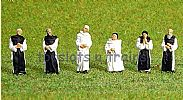 Faller 150924 HO/OO 1-87 Scale Figures CISTERCIAN MONKS X 6 FIGURE SET