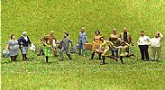 Faller 153002 HO/OO 1-87 Scale Figures TRAVELLERS X 36 FIGURE SET