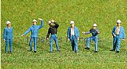 Faller 150929 HO/OO 1-87 Scale Figures CHEMICAL PLANT WORKERS X 6 FIGURE SET