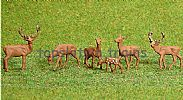 Faller 151907 HO/OO 1-87 Scale Figures RED DEER X 6 FIGURE SET