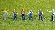 Faller 151612 HO/OO 1-87 Scale Figures ROADWAY WORKERS X 6 FIGURE SET