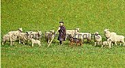 Faller 151901 HO/OO 1-87 Scale Figures SHEEP FARMING X 14 FIGURE SET