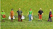 Faller 153042 HO/OO 1-87 Scale Figures GOING SHOPPING X 6 FIGURE SET
