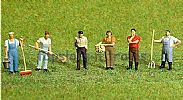 Faller 153028 HO/OO 1-87 Scale Figures STABLE STAFF X 6 FIGURE SET