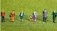 Faller 151607 HO/OO 1-87 Scale Figures TOWN FOLK X 7 FIGURE SET