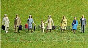 Faller 150501 HO/OO 1-87 Scale Figures TRAVELLERS X 8 FIGURE SET
