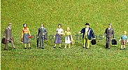 Faller 151614 HO/OO 1-87 Scale Figures TRAVELLERS X 8 FIGURE SET