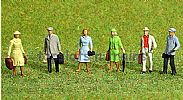 Faller 153044 HO/OO 1-87 Scale Figures TRAVELLERS X 6 FIGURE SET