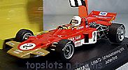 Slot.It Policar SI-CAR02A LOTUS 72 F1/GP 1970 HOCKENHEIMRING JOCHEN RINDT