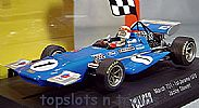 Slot.It Policar SI-CAR04B MARCH 701 F1/GP 1ST 1970 JARAMA JACKIE STEWART