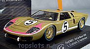 Slot.It SI-CA20C FORD GT40 MKII LE MANS 1966 BUCKNUM HUTCHERSON