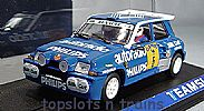 Teamslot TS-12108 RENAULT 5 MAXI-TURBO RALLY 1988 BARRERAS