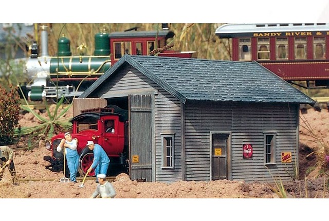 Piko 62232 - RAILROAD TRACK INSPECTION SHED