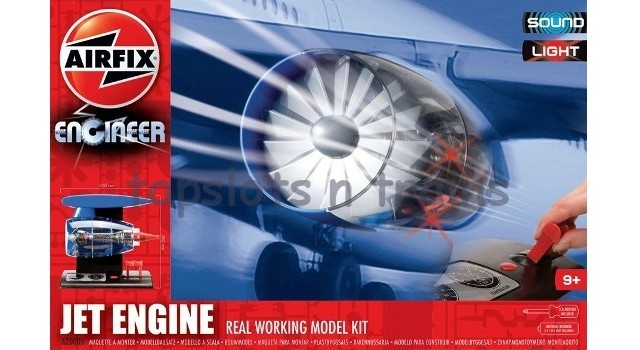 Airfix A20005 1/72 Scale Model Kit - AIRFIX ENGINEER - JET ENGINE
